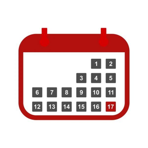 Calendar Icon Creative Design Template (Turbo Premium Space)