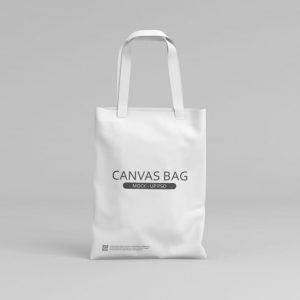 Canvas bag mockup