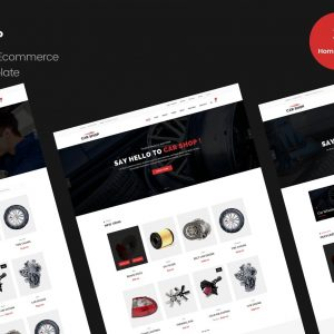 Car Shop - Ecommerce HTML Template