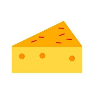 Cheese Icon Creative Design Template