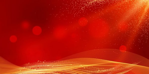 Chinese Style New Year Red Gold Background Material (Turbo Premium Space)