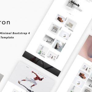 Chiron - Creative Minimal Bootstrap 4 Portfolio Template