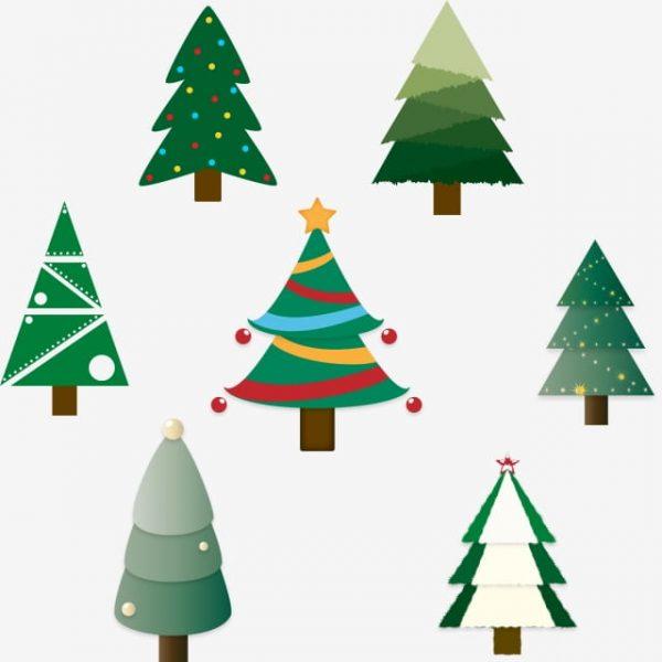 Christmas Tree Cartoon (Turbo Premium Space)