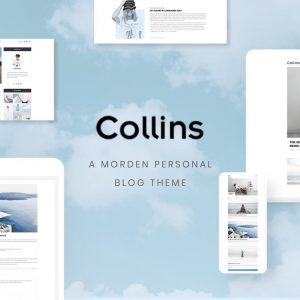 Collins - Minimalist & Personal Blog PSD Template