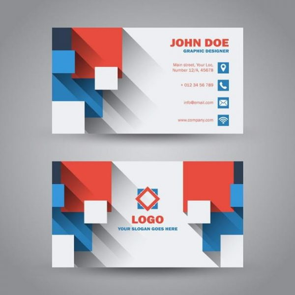 Colorful Business Card Template (Turbo Premium Space)