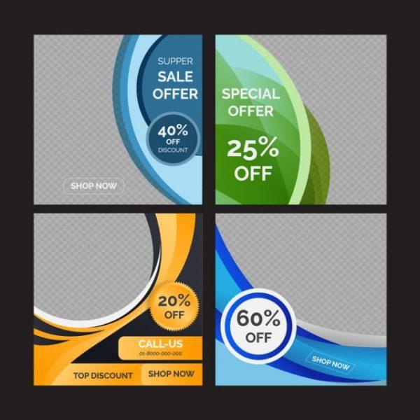 Colorful Social Media Banner (Turbo Premium Space)