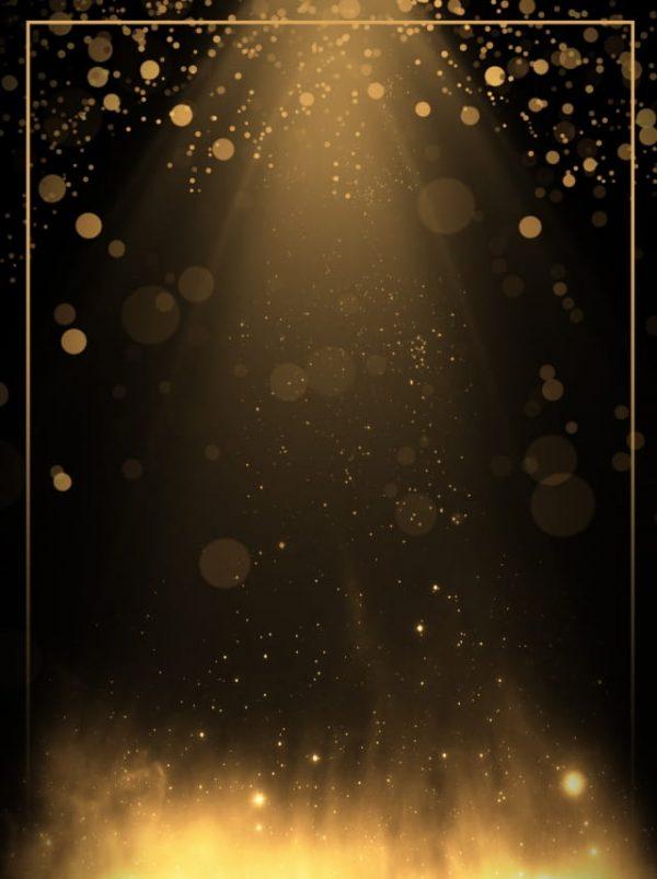 Creative Aesthetic Black Gold Light Effect Background (Turbo Premium Space)