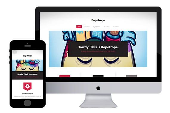 Dopetrope - HTML5 Corporate Template