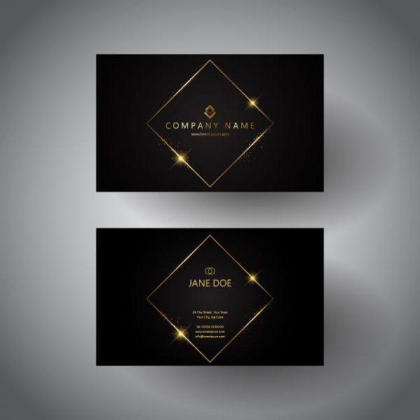 Elegant Business Card Design (Turbo Premium Space)