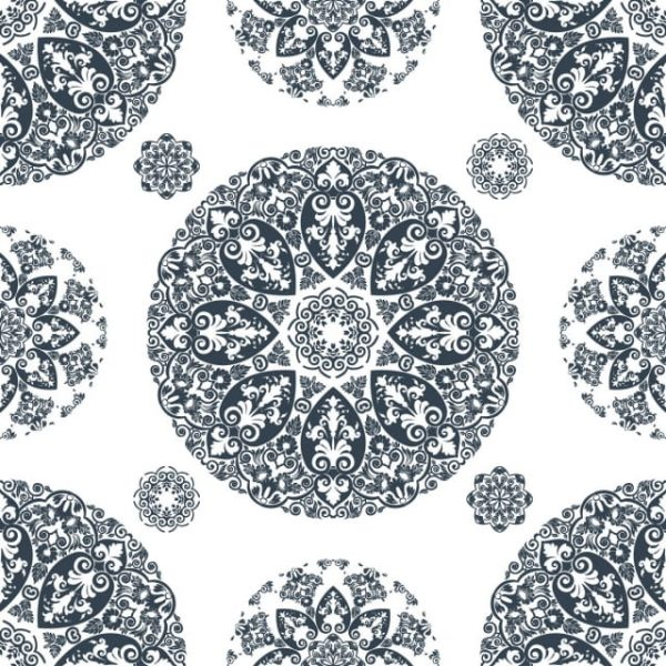 Elegant Lace Vintage Seamless Pattern (Turbo Premium Space)
