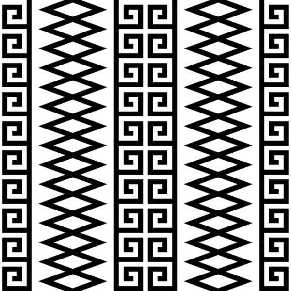 Ethnic Seamless Pattern Motifs Aztec Pattern Tribal Pattern