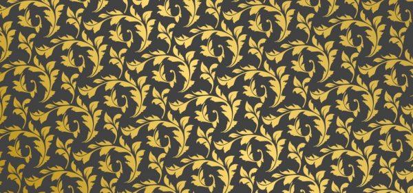 European Pattern Ornamental Floral Background