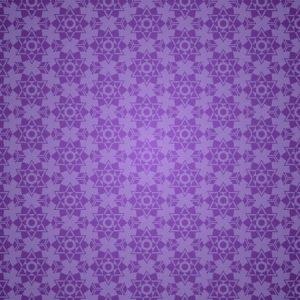 European Patterns Purple Background