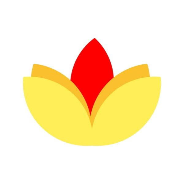 Flower Diwali Icon Creative Design Template (Turbo Premium Space)