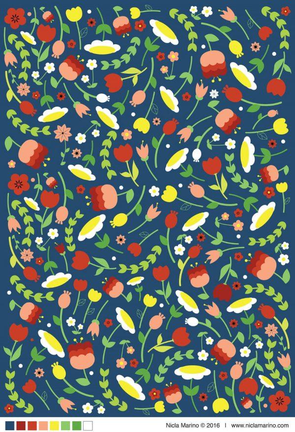 Resources Floral Patterns (Turbo Premium Space)