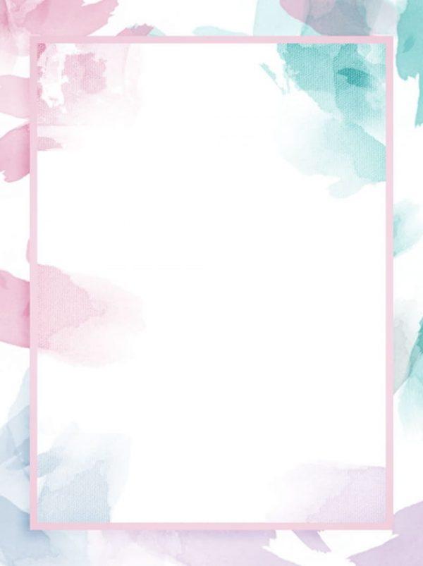 Full Irregular Watercolor Splash Ink Light Color Background (Turbo Premium Space)
