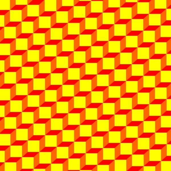 Geometric Pattern Yellow Box For Background (Turbo Premium Space)