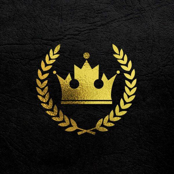 Gold Logo Mockup (Turbo Premium Space)