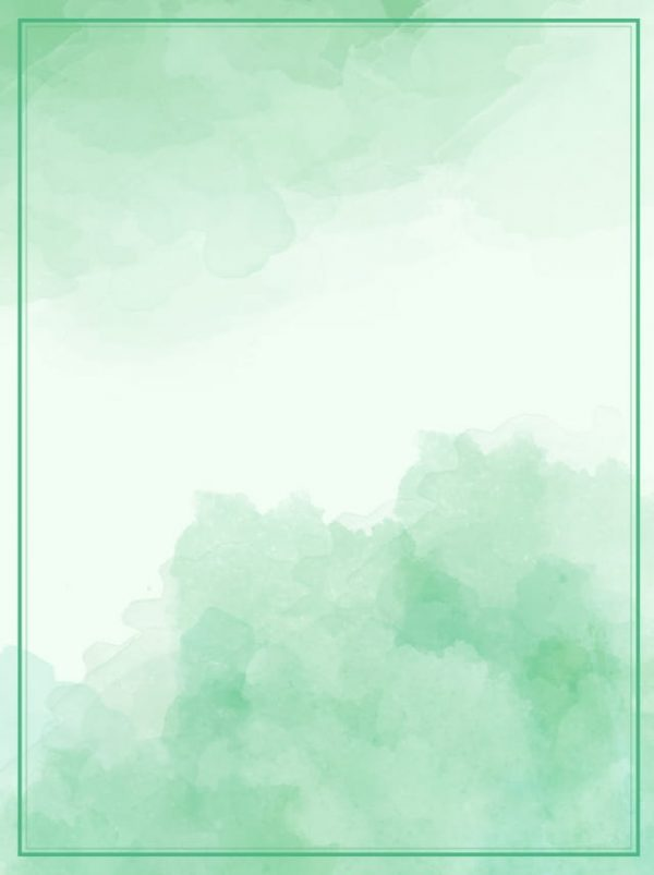 Green Gradient Watercolor Ink Effect Poster Background (Turbo Premium Space)