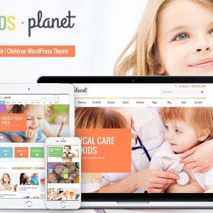 Kids Planet - A Multipurpose Children WP Theme