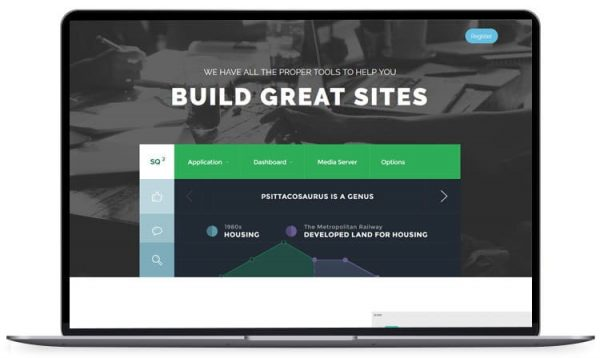 Landing Sumo – Bootstrap Landing Page