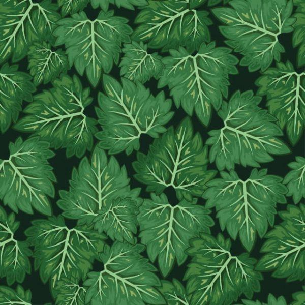 Leaf Vector Pattern Background
