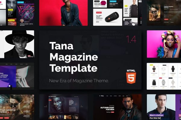 Magazine Tana - News Music Movie Blog Fashion HTML
