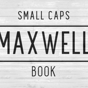 Maxwell Sans Small Caps Book