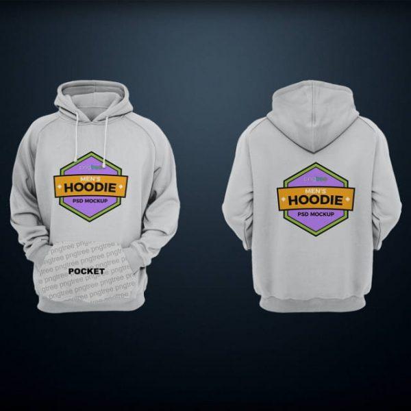 Mens Hoodie Mockup (Turbo Premium Space)