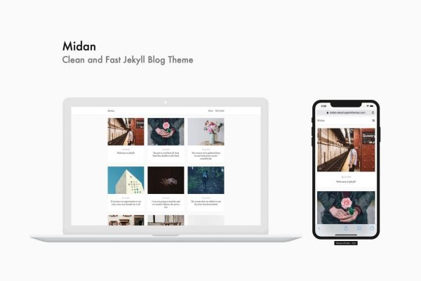 Midan - Clean and Fast Jekyll Blog Theme