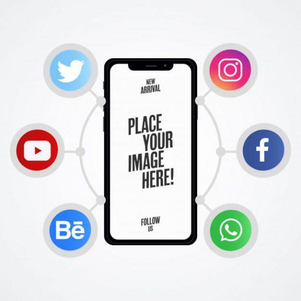 Modern social media presentations (Turbo Premium Space)