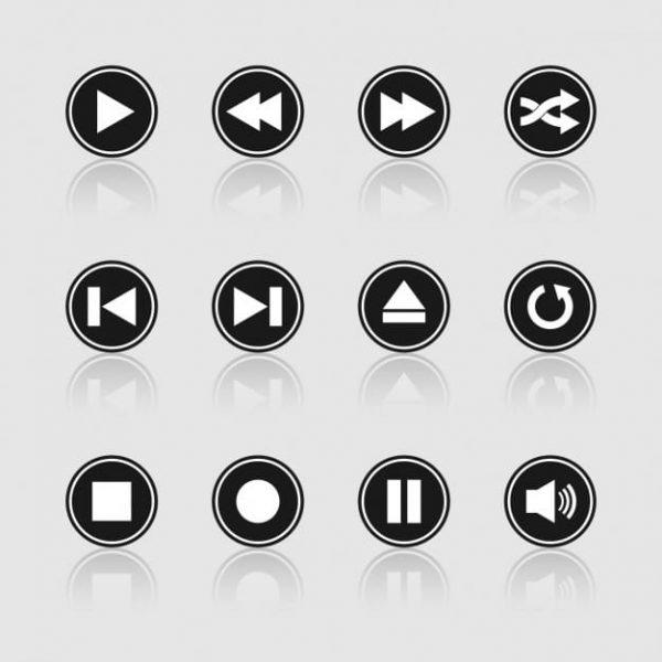 Multimedia black and white