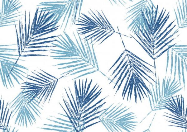 Natural blue palm leaves (Turbo Premium Space)