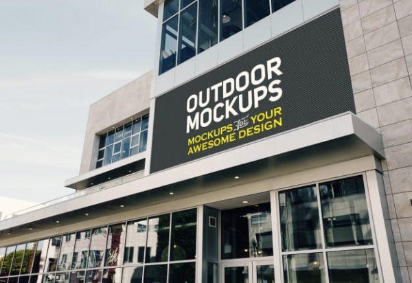 Outdoor panel mock up (Turbo Premium Space)