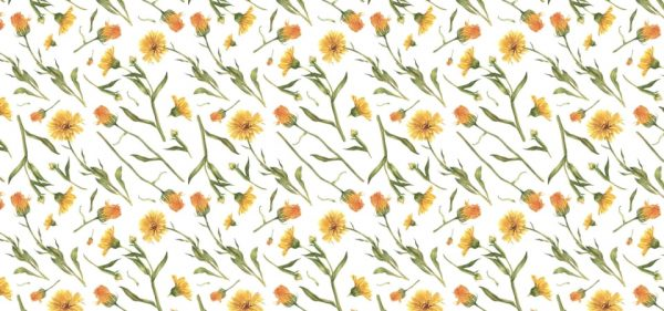 Pattern Of The Flower Background