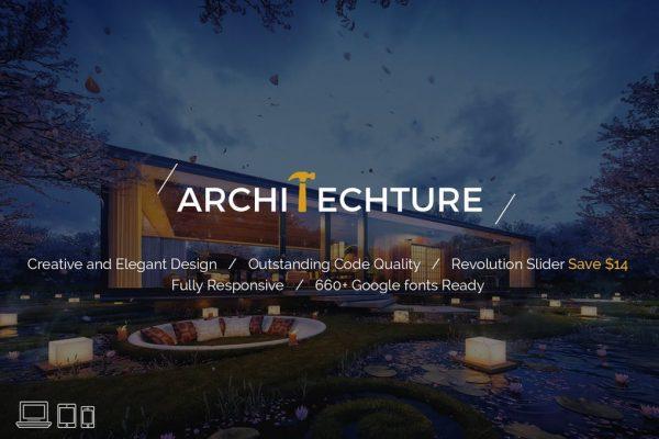 Portfolio, Creative, Theme - Architecture