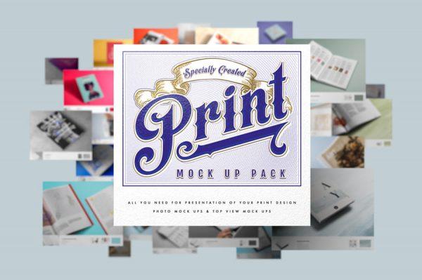 Print Mock Up Pack (Turbo Premium Space)