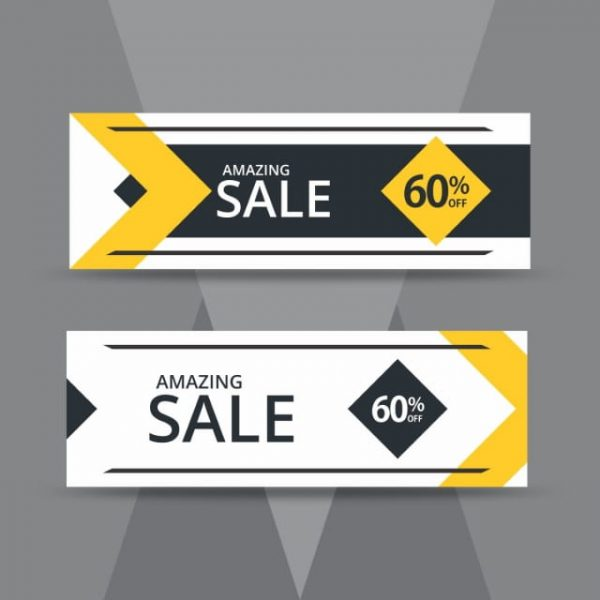 Sale Banner Design Template (Turbo Premium Space)