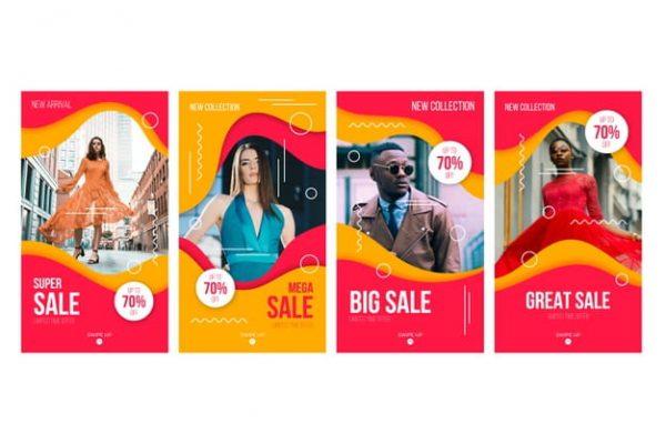 Sales instagram stories collection (Turbo Premium Space)