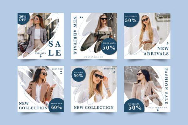 Sales post pack