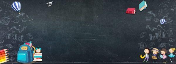 School Season Welcome New Students Blackboard Hand Painted (Turbo Premium Space)