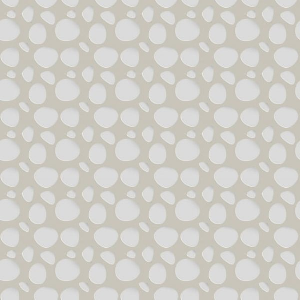 Seamless Pattern With Soft Forms