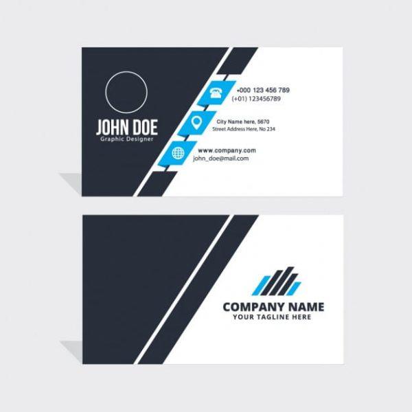 Simple-blue-black-white-business-card