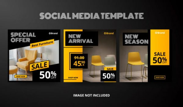 Social media post template collection (Turbo Premium Space)