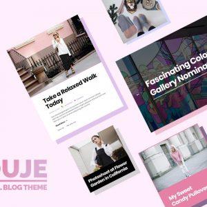 Souje - Personal WordPress Blog Theme