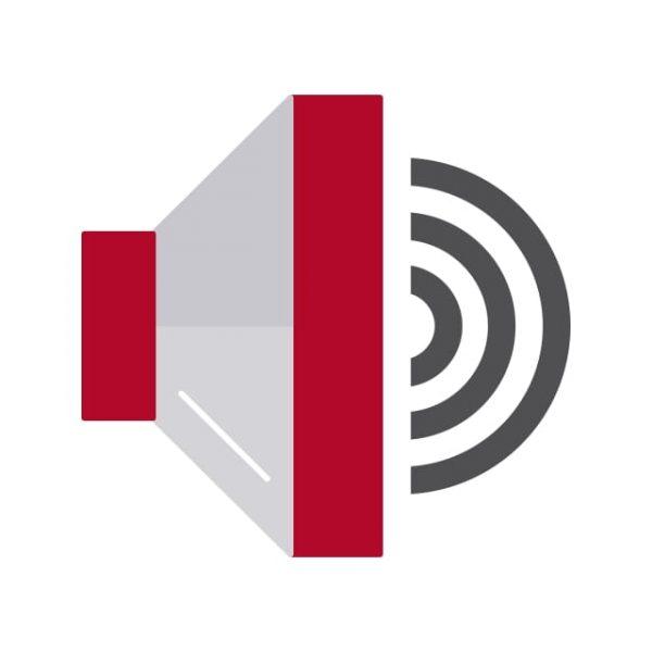 Speaker Icon Creative Design Template (Turbo Premium Space)
