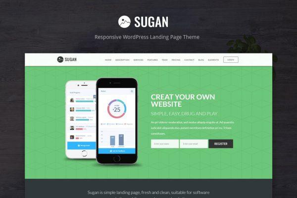 Sugan - Software / Apps / Mobile WordPress Theme