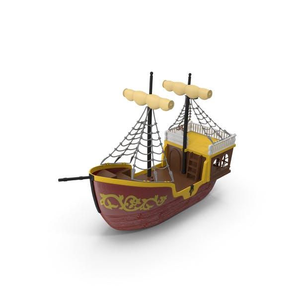 Toy Sailboat (Turbo Premium Space)