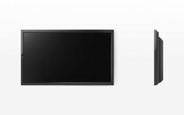 Tv screen, modern black lcd panel (Turbo Premium Space)