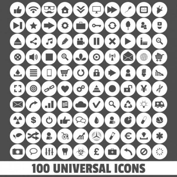 Universal icons (Turbo Premium Space)